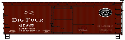 Accurail HO-Scale CCC&St.L 36' Double Sheath Wood Boxcar (Pre-Order)