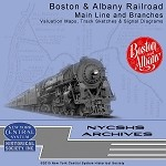 Boston & Albany Railroad Val Map DVD(Free shipping on US orders Only)
