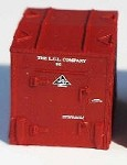 Westerfield HO-Scale LCL Individual Containers for USRA 46' Mill Gondolas, Early Container
