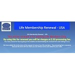 Life Membership Renewal (Only for Exisiting Life Members) ($.50 processing fee charged for this renewal) (COPY)