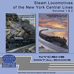 Steam Locomotives of the New York Central Lines, Vol 1 & 2 DVD Set(Free shipping on US orders Only)